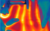 Thermografie bij vloerverwarming
