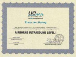 Energiekeurplus is ASNT Level 1 ultrasoon inspecteur