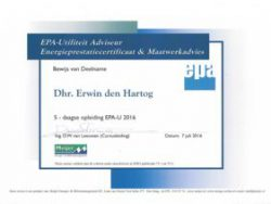 Energiekeurplus is EPA-U maatwerk adviseur