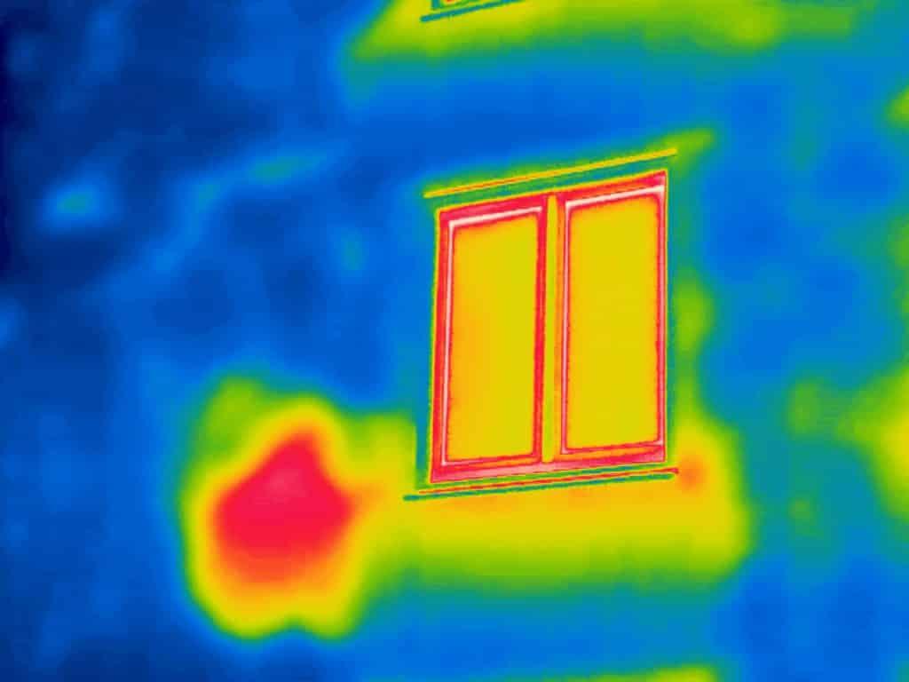 Thermografie bij isolatie gebreken in Driebergen