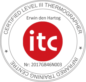 ITC Level 3 gecertificeerd thermograaf