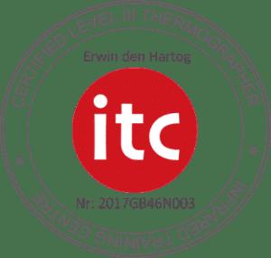 ITC Level 3 gecertificeerd thermograaf