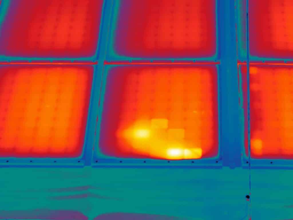 Thermografisch onderzoek zonnepanelen Alliander