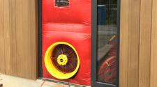 Energiekeurplus verzorgt een luchtdichtheidstest met Blowerdoor