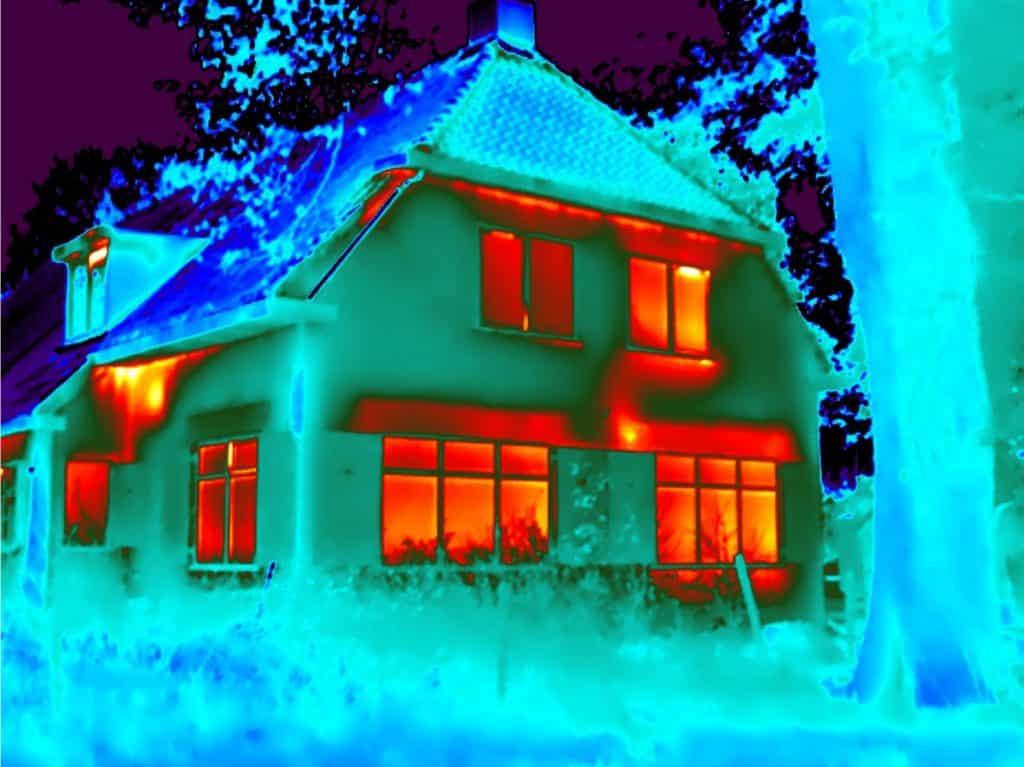 Energiescan met blowerdoor & thermografie