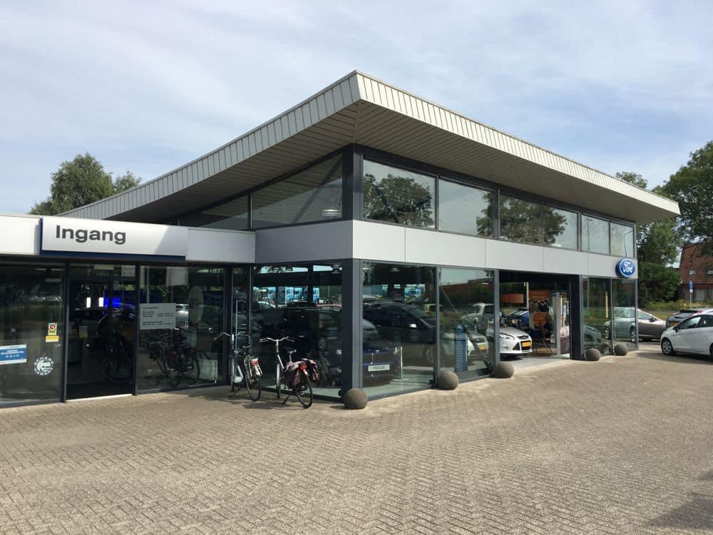 Energielabel voor autobedrijf Wensink in Kampen