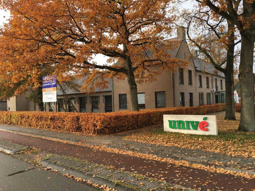 Energielabel voor het kantoren complex van Univé in Vries