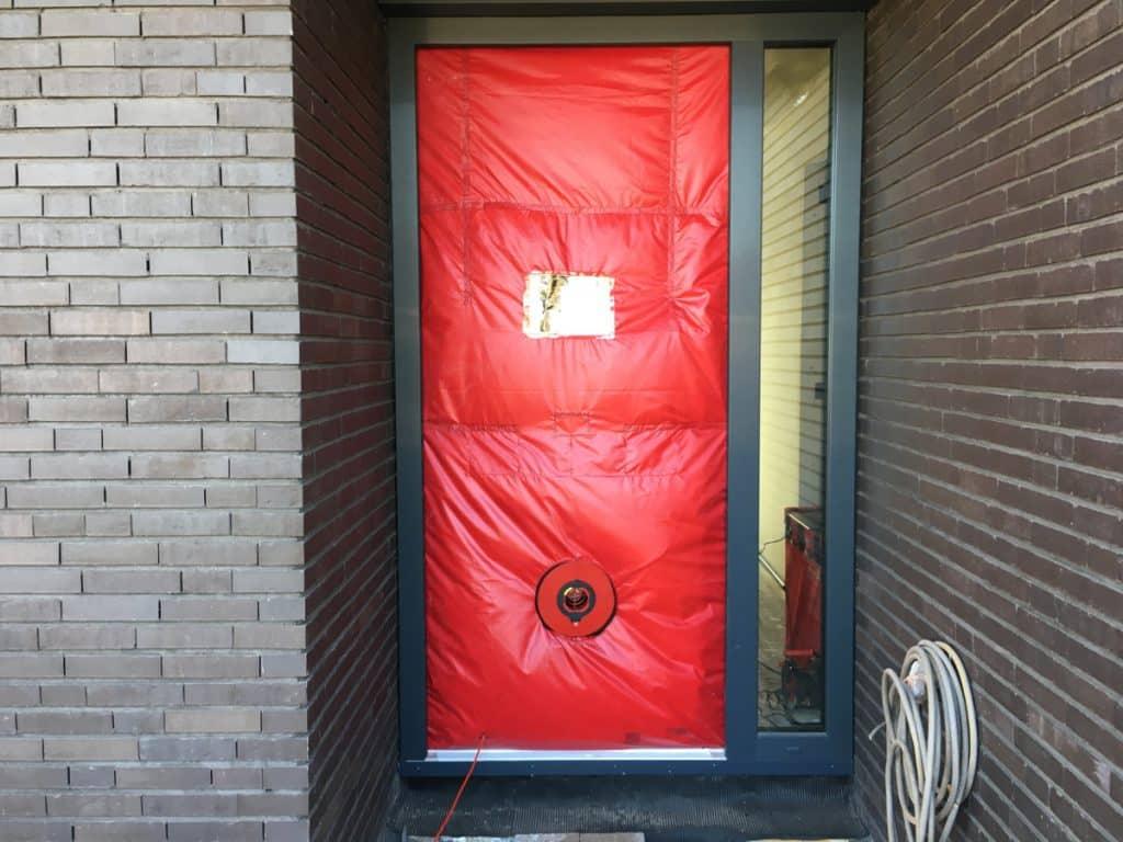 Passiefhuis test in Drenthe