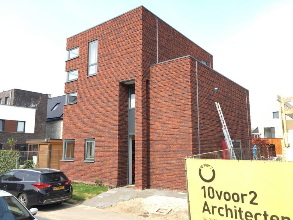 QV10 meting bij een nieuwbouwwoning in Enschede