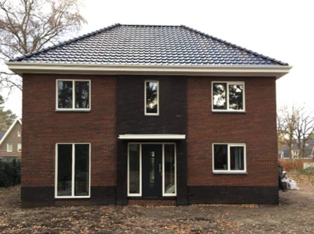 QV10 meting bij een nieuwbouw woning in Ermelo