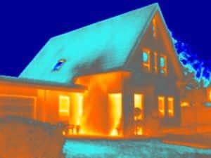 Thermografie bij een woning in Beetsterzwaag