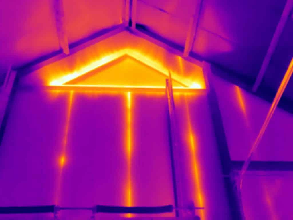 Thermografie bij isolatiegebreken