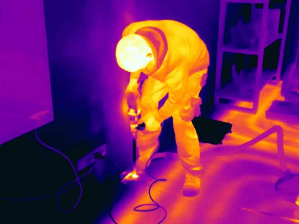 Thermografie bij vloerverwarming is een effectieve toepassingsmogelijkheid