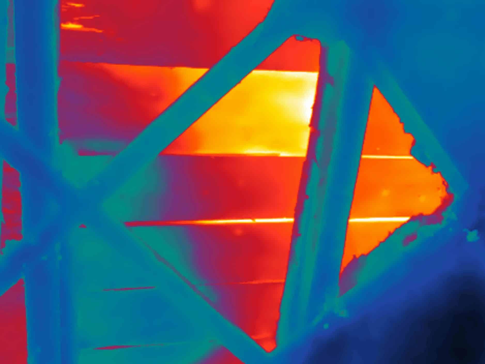 Lekdetectie met gebruik van thermografie bij daklekkage