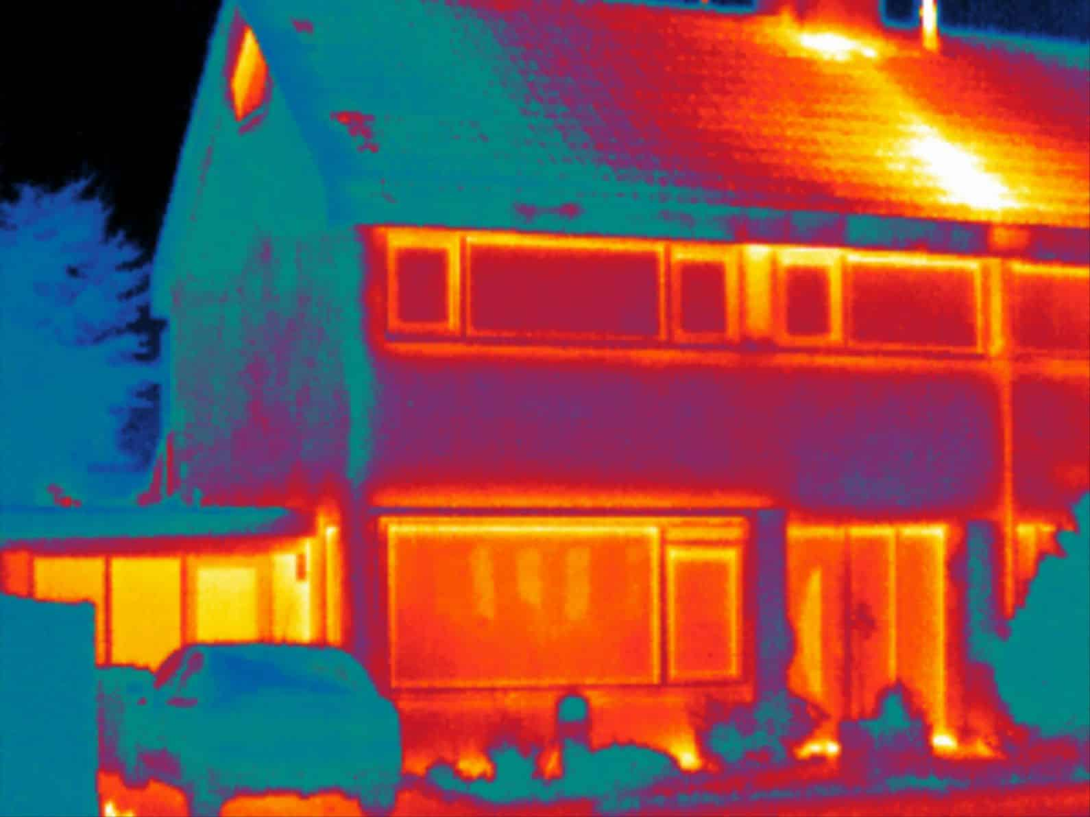 Energiekeurplus is specialist in bouwkundige thermografie