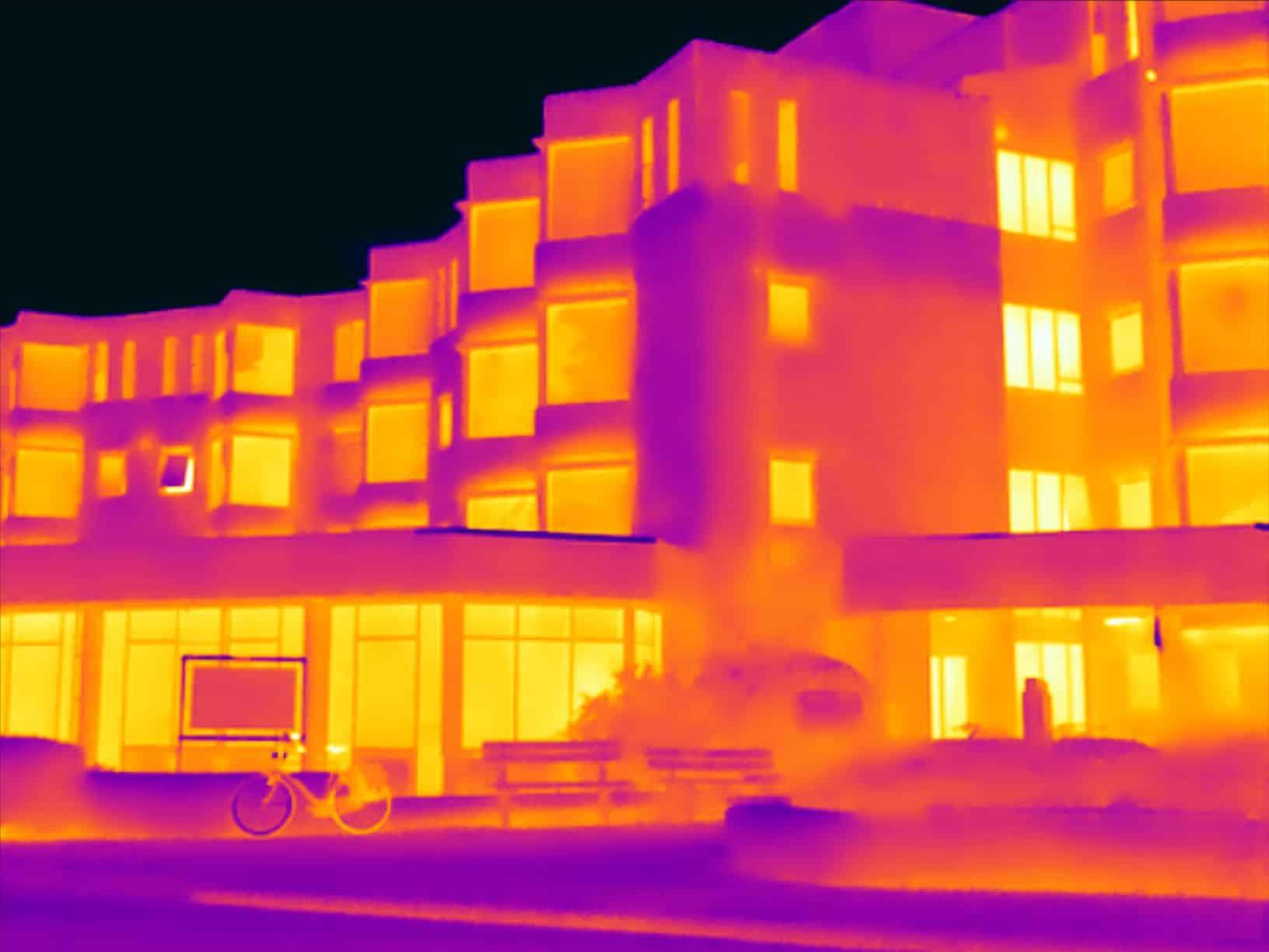 Thermografie inspectie zorgcentrum in Den Helder