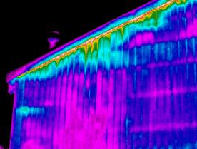 Thermografie bij een woning in Drachten