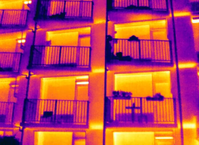 thermografie woonzorgcentrum Erasmusheem in Haren.