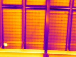 Kwaliteit controle bij zonnepanelen met thermografie.