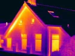 Thermografie bij isolatiegebreken na het aanbregen van isolatie in Groningen
