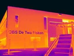 Thermografie bij OBS school De Twa Fisken in Grou