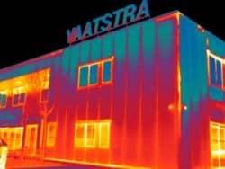Thermografie bij installatiebedrijf Vaatstra in Bedum