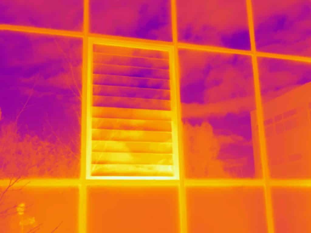 Thermografie toont warmteverlies in Leeuwarden