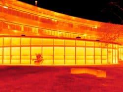 Thermografie inspectie bij Van Hall Larenstein in Velp.
