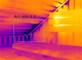 Thermografie bij vochtproblemen sauna Groningen