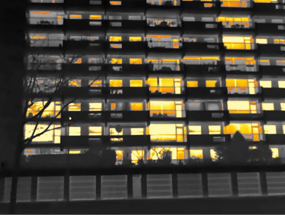 Energiekeurplus toont warmteverlies bij VVE Parkflat 1 in Amsterdam