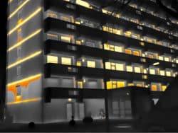 Thermografie bij VVE Parkflat 1 Amsterdam