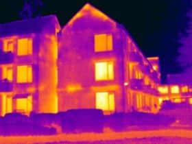 Thermografie inspectie zorgcentrum De Renselheerdt Winschoten