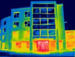 Thermografie inspectie bij een zorgcentrum in Ten Boer