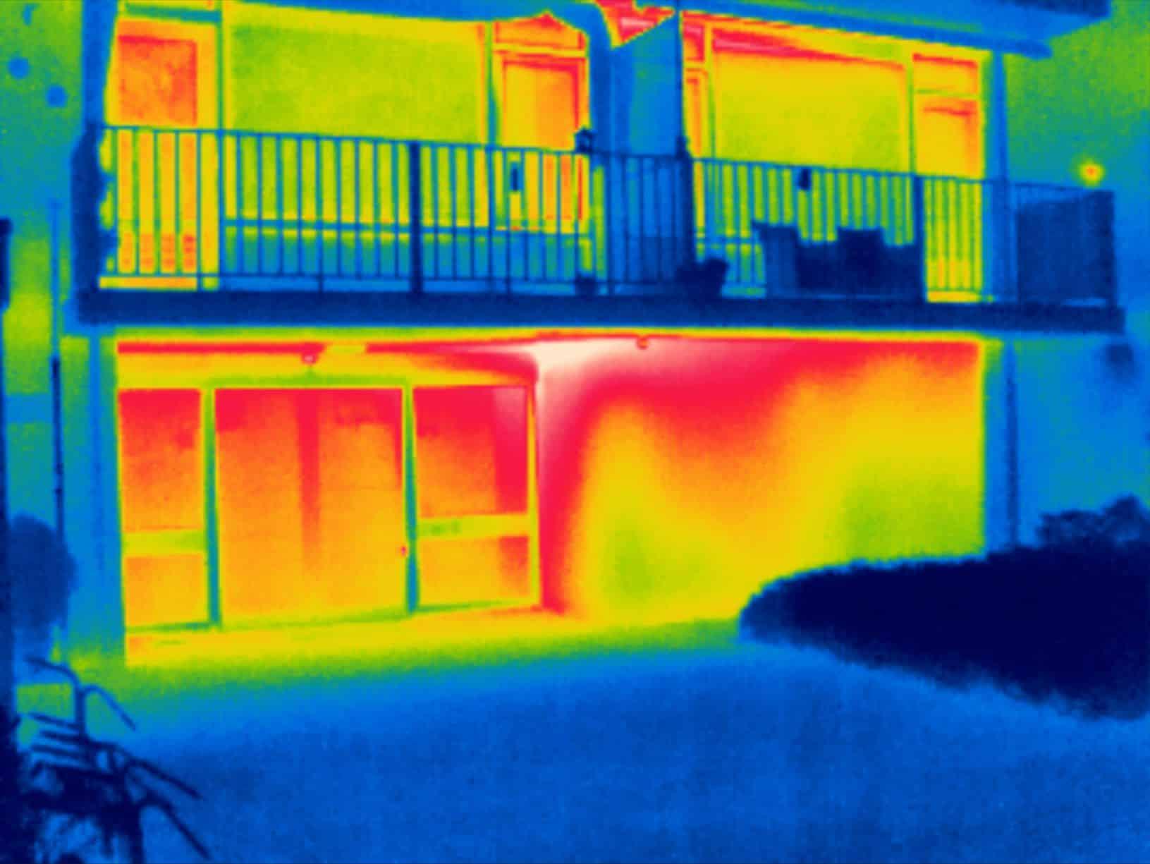 Thermografie inspectie isolatie controle woonzorgcentrum