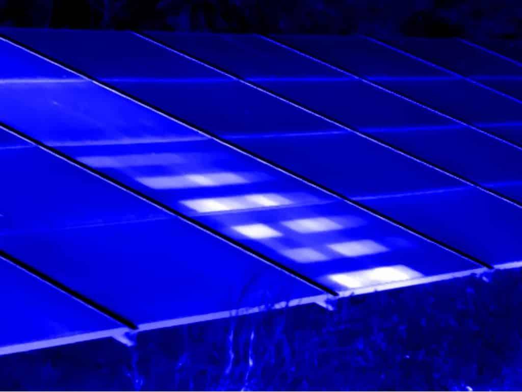Thermografie inspectie van zonnepanelen op zonneparken