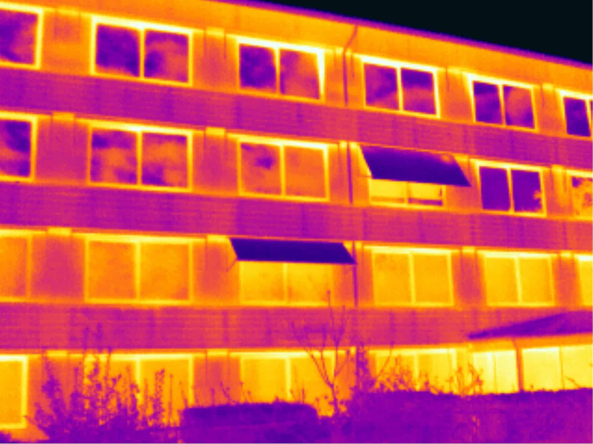 Thermografie project zorgcentrum Sint Carolus in Hilversum