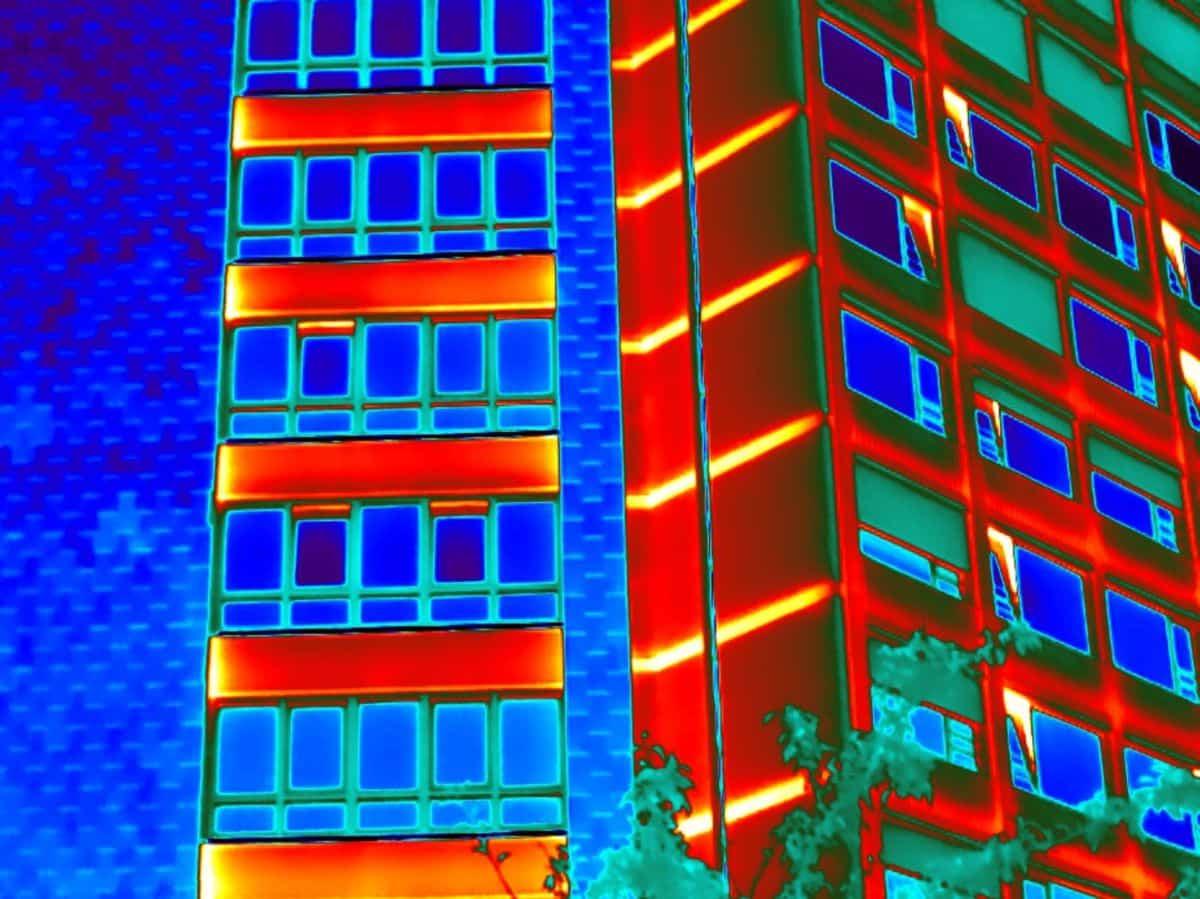 Thermografisch onderzoek bij een zorgcentrum in Amstelveen