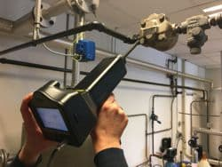 Energiekeurplus is specialist in  ultrasoon inspecties.